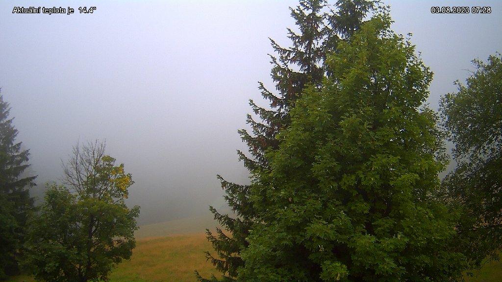 Webcam Skigebiet Rokytnice n. Jizerou Horni Domky - Riesengebirge